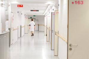 Couloir St-Michiel Cliniques de L'Europe