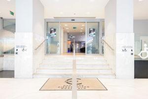 Entrée St-Michiel Cliniques de L'Europe